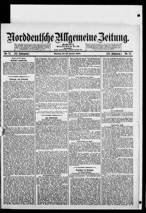 Norddeutsche allgemeine Zeitung vom 14.01.1913