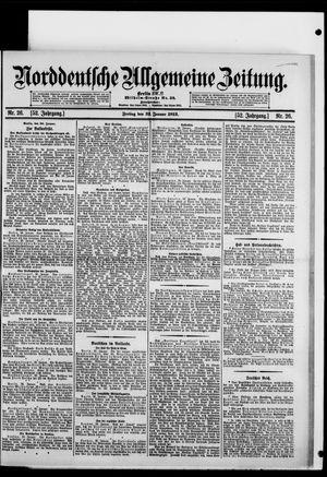 Norddeutsche allgemeine Zeitung on Jan 31, 1913