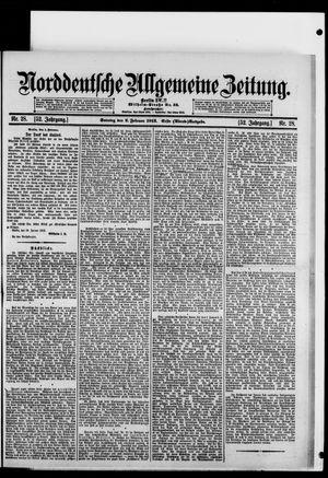 Norddeutsche allgemeine Zeitung vom 02.02.1913