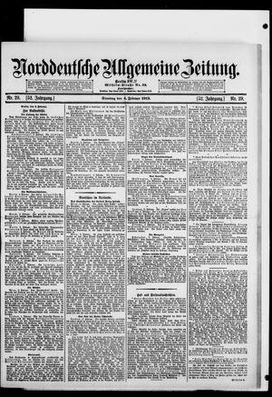 Norddeutsche allgemeine Zeitung on Feb 4, 1913