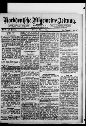 Norddeutsche allgemeine Zeitung vom 05.02.1913