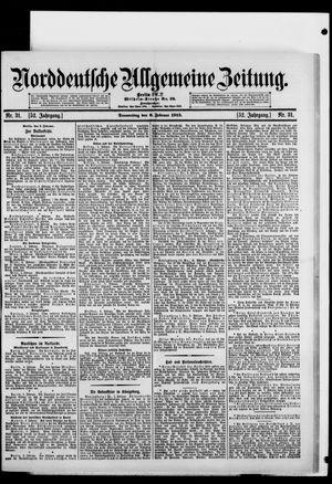 Norddeutsche allgemeine Zeitung vom 06.02.1913