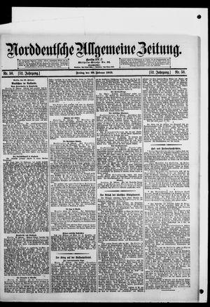 Norddeutsche allgemeine Zeitung vom 28.02.1913