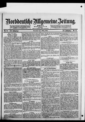Norddeutsche allgemeine Zeitung vom 01.03.1913