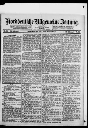 Norddeutsche allgemeine Zeitung vom 02.03.1913