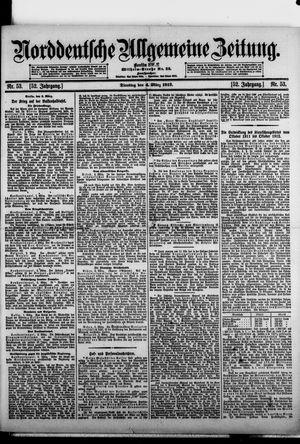 Norddeutsche allgemeine Zeitung vom 04.03.1913