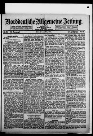 Norddeutsche allgemeine Zeitung vom 05.03.1913