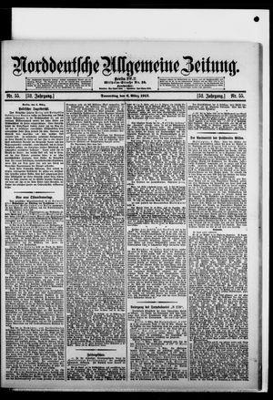 Norddeutsche allgemeine Zeitung vom 06.03.1913