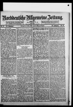 Norddeutsche allgemeine Zeitung vom 09.03.1913