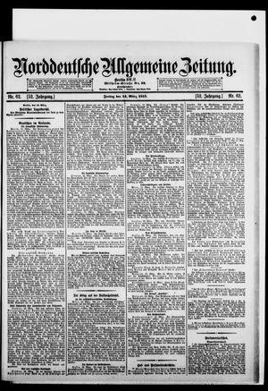 Norddeutsche allgemeine Zeitung vom 14.03.1913