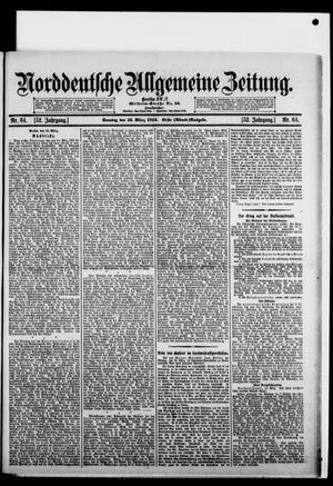 Norddeutsche allgemeine Zeitung vom 16.03.1913