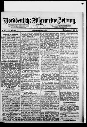 Norddeutsche allgemeine Zeitung vom 18.03.1913