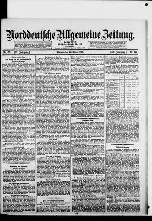 Norddeutsche allgemeine Zeitung on Mar 19, 1913