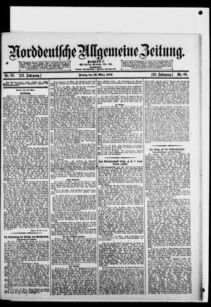 Norddeutsche allgemeine Zeitung vom 21.03.1913