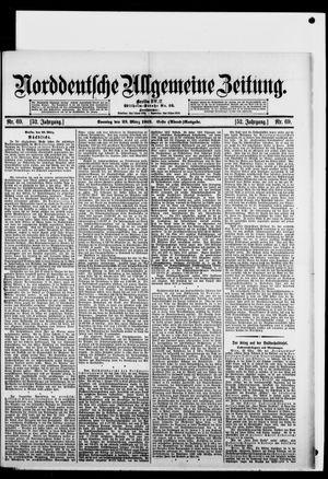 Norddeutsche allgemeine Zeitung vom 23.03.1913