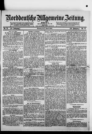 Norddeutsche allgemeine Zeitung vom 01.04.1913