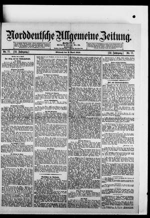 Norddeutsche allgemeine Zeitung vom 02.04.1913