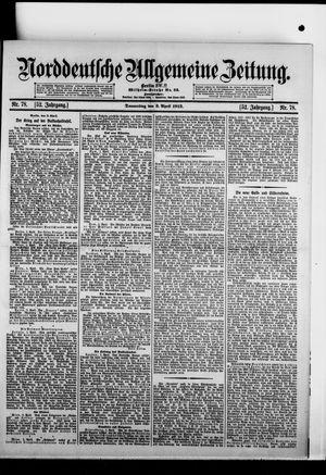 Norddeutsche allgemeine Zeitung vom 03.04.1913