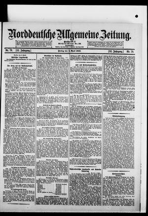 Norddeutsche allgemeine Zeitung vom 04.04.1913