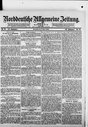 Norddeutsche allgemeine Zeitung vom 05.04.1913