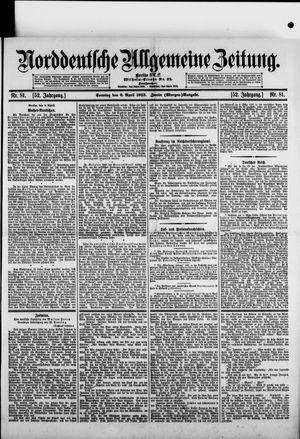 Norddeutsche allgemeine Zeitung vom 06.04.1913