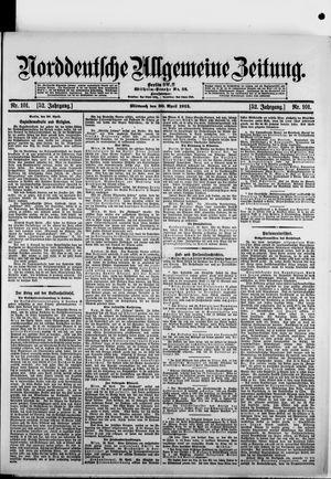 Norddeutsche allgemeine Zeitung vom 30.04.1913