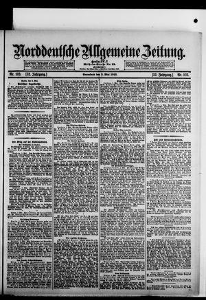Norddeutsche allgemeine Zeitung vom 03.05.1913
