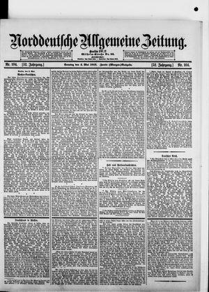 Norddeutsche allgemeine Zeitung vom 04.05.1913