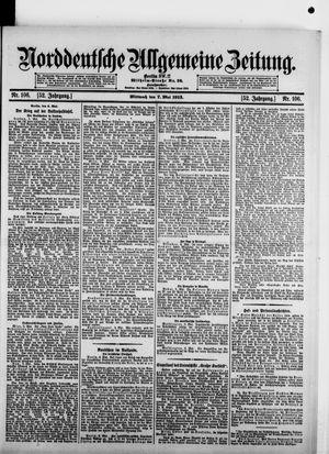 Norddeutsche allgemeine Zeitung on May 7, 1913