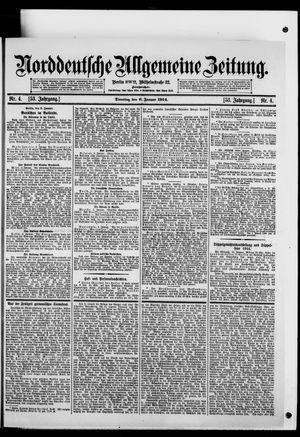 Norddeutsche allgemeine Zeitung vom 06.01.1914