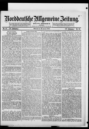Norddeutsche allgemeine Zeitung vom 28.01.1914