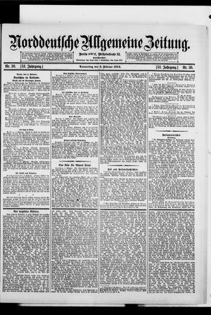 Norddeutsche allgemeine Zeitung vom 05.02.1914