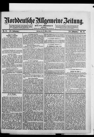 Norddeutsche allgemeine Zeitung vom 06.03.1914