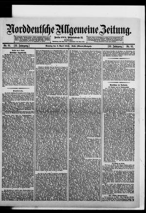 Norddeutsche allgemeine Zeitung vom 05.04.1914