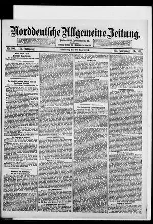 Norddeutsche allgemeine Zeitung on Apr 30, 1914