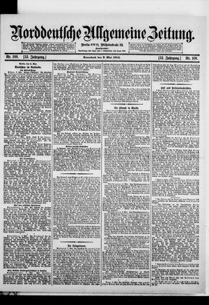 Norddeutsche allgemeine Zeitung vom 09.05.1914