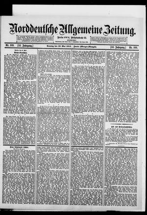 Norddeutsche allgemeine Zeitung vom 10.05.1914