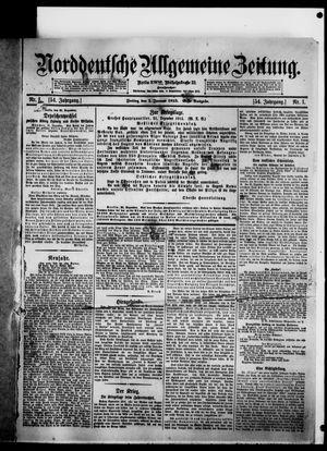 Norddeutsche allgemeine Zeitung vom 01.01.1915