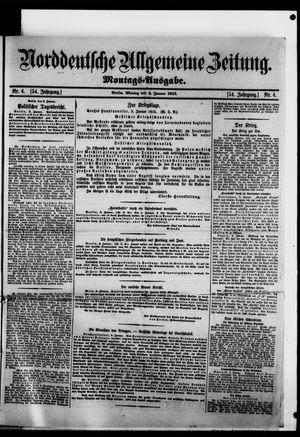 Norddeutsche allgemeine Zeitung vom 04.01.1915