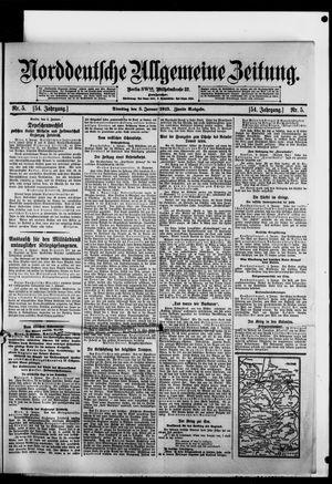 Norddeutsche allgemeine Zeitung vom 05.01.1915