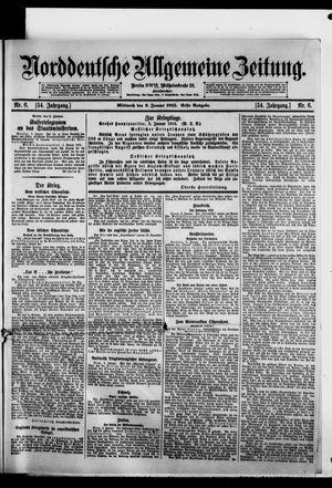 Norddeutsche allgemeine Zeitung vom 06.01.1915