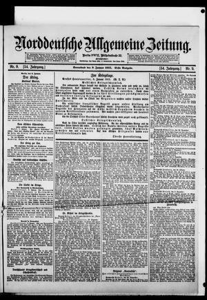 Norddeutsche allgemeine Zeitung on Jan 9, 1915
