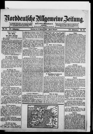 Norddeutsche allgemeine Zeitung vom 02.02.1915
