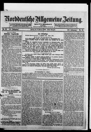 Norddeutsche allgemeine Zeitung vom 05.02.1915