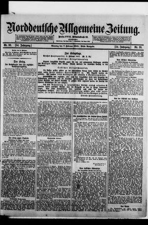 Norddeutsche allgemeine Zeitung vom 07.02.1915