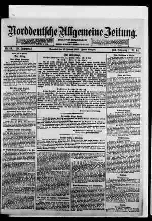 Norddeutsche allgemeine Zeitung vom 13.02.1915