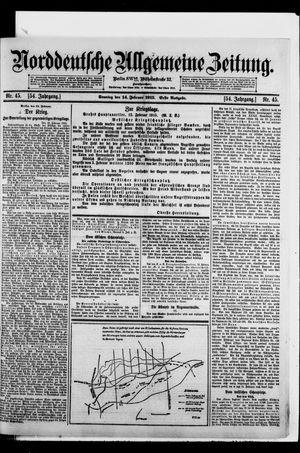 Norddeutsche allgemeine Zeitung on Feb 14, 1915