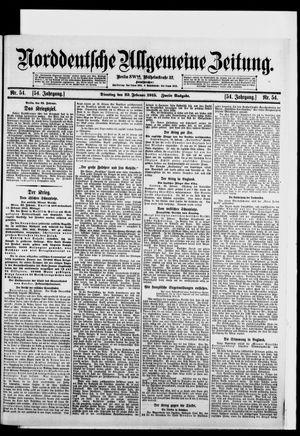 Norddeutsche allgemeine Zeitung vom 23.02.1915