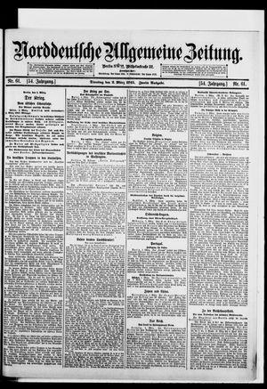 Norddeutsche allgemeine Zeitung vom 02.03.1915