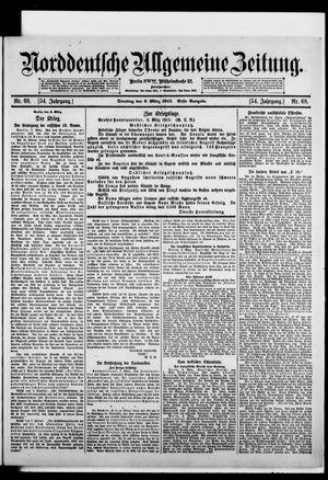 Norddeutsche allgemeine Zeitung vom 09.03.1915